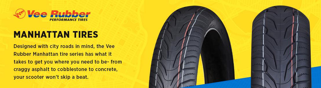 Vee Rubber Manhattan Scooter Tires
