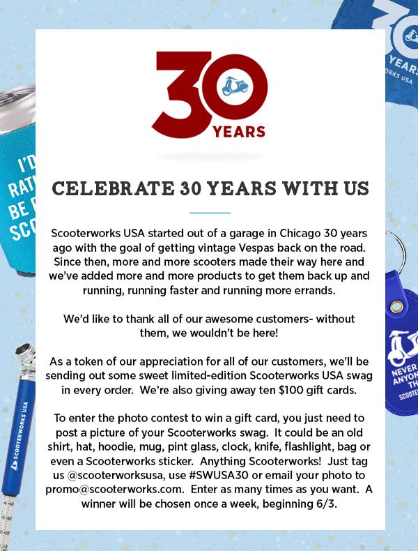 30th Anniversary Contest
