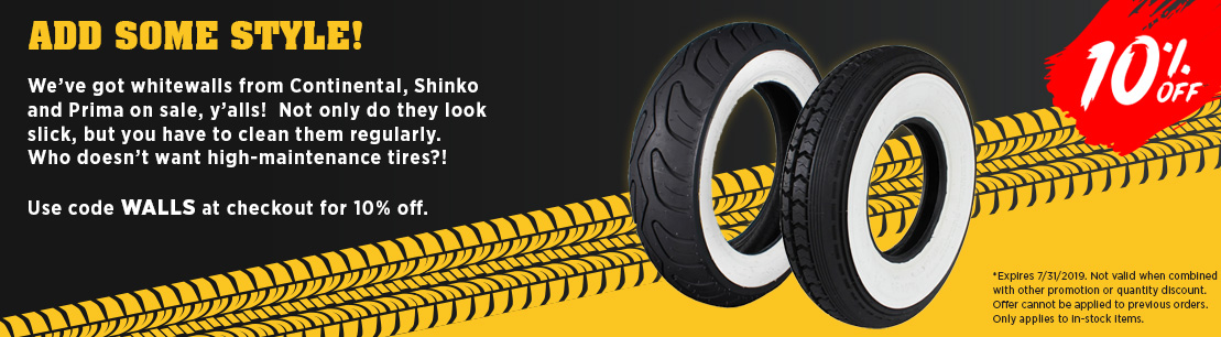 Whitewall Tire Sale