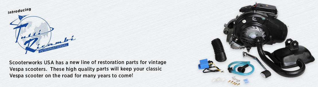 Tutti Ricambi Vintage Vespa Parts