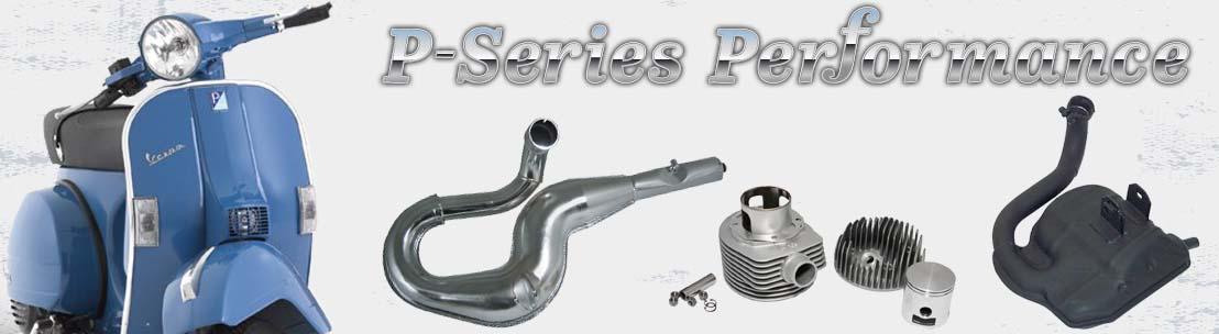 Vespa P-Series Performance