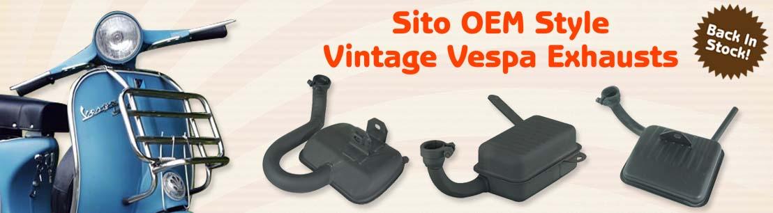 SITO OEM Vintage Vespa