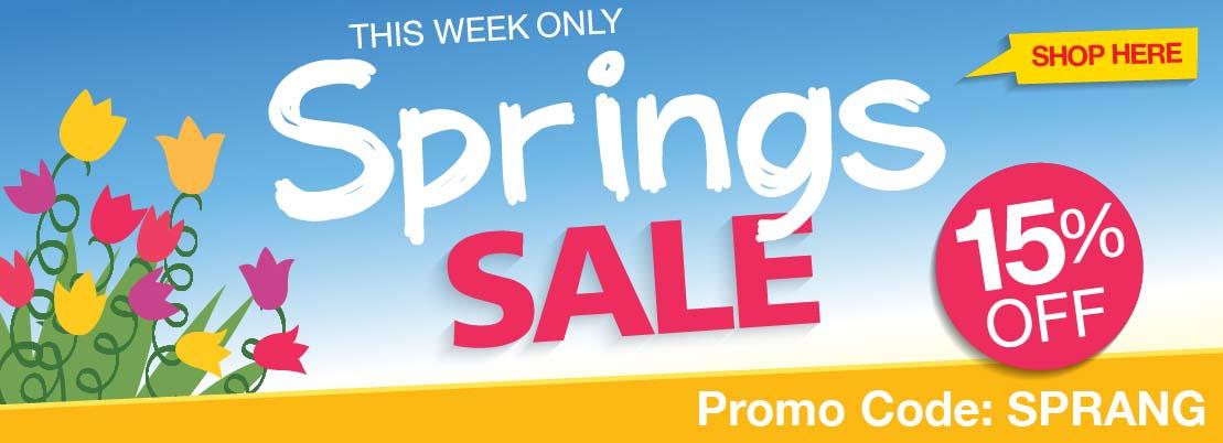 Springs Spring Sale